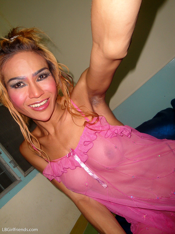 Anny Is A Ts Girlfriend For The Weekend In Pink Panties
