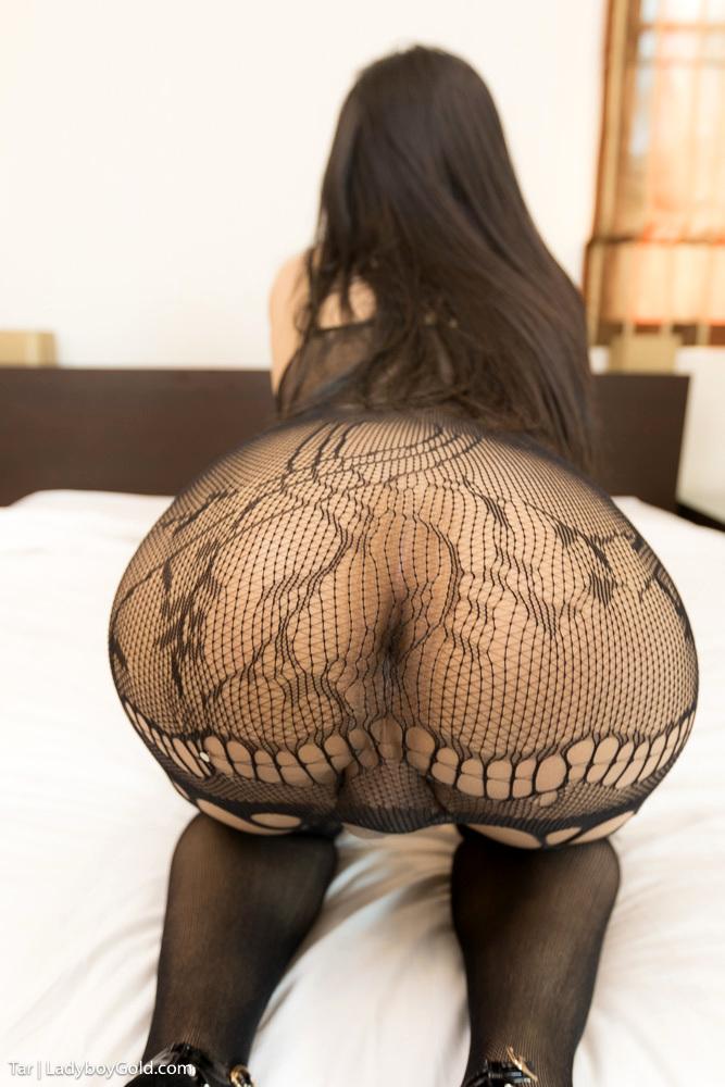 Enormous Cock Sex In A Black Panties Bodysuit