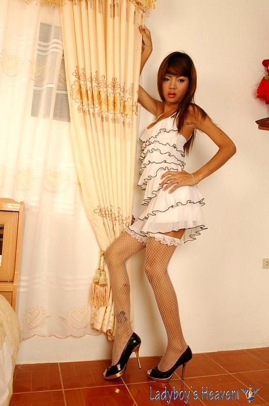 Small, Skinny, Pretty Thai Tgirl Nadia Love