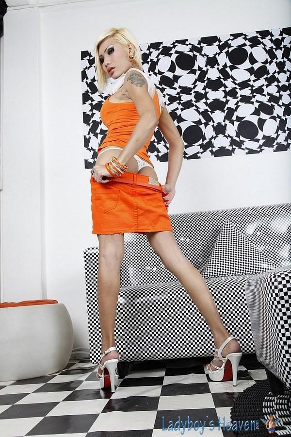 Transexual Patti In A T-Girl Three Way