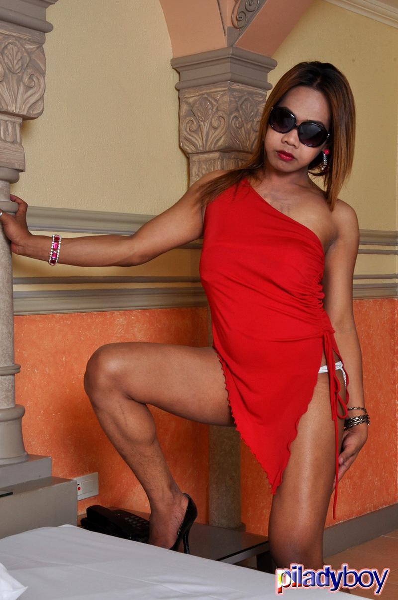 Ushergel Buenavista: Red Skirt