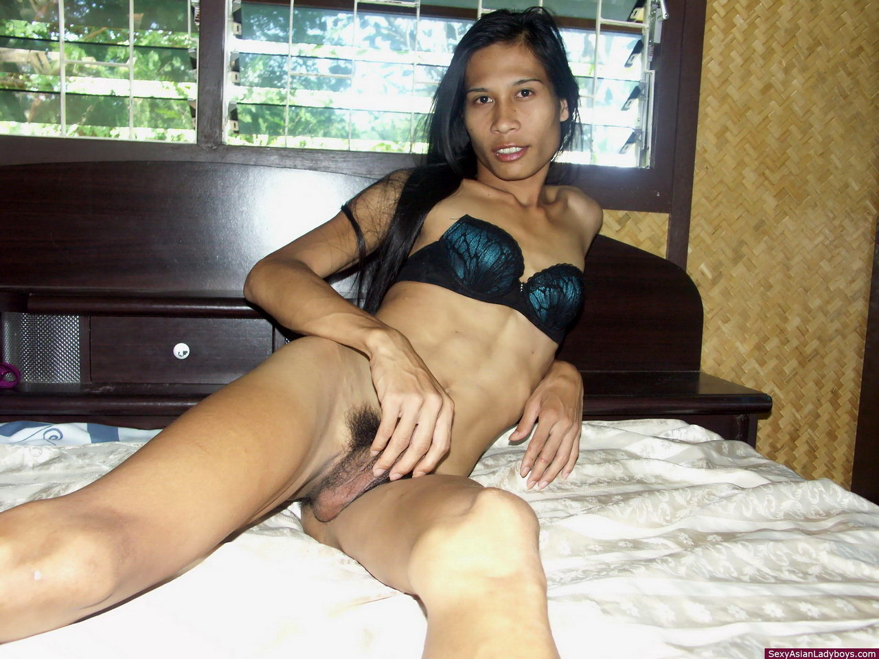 Very Slim Asian Ts Stripping For Us