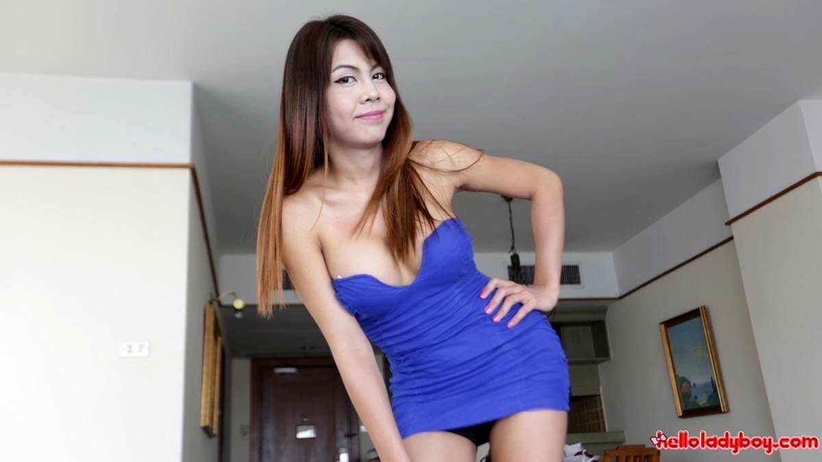 Wild Busty Asian Transexual With Enormous Dick Extracts Foreign Sperm
