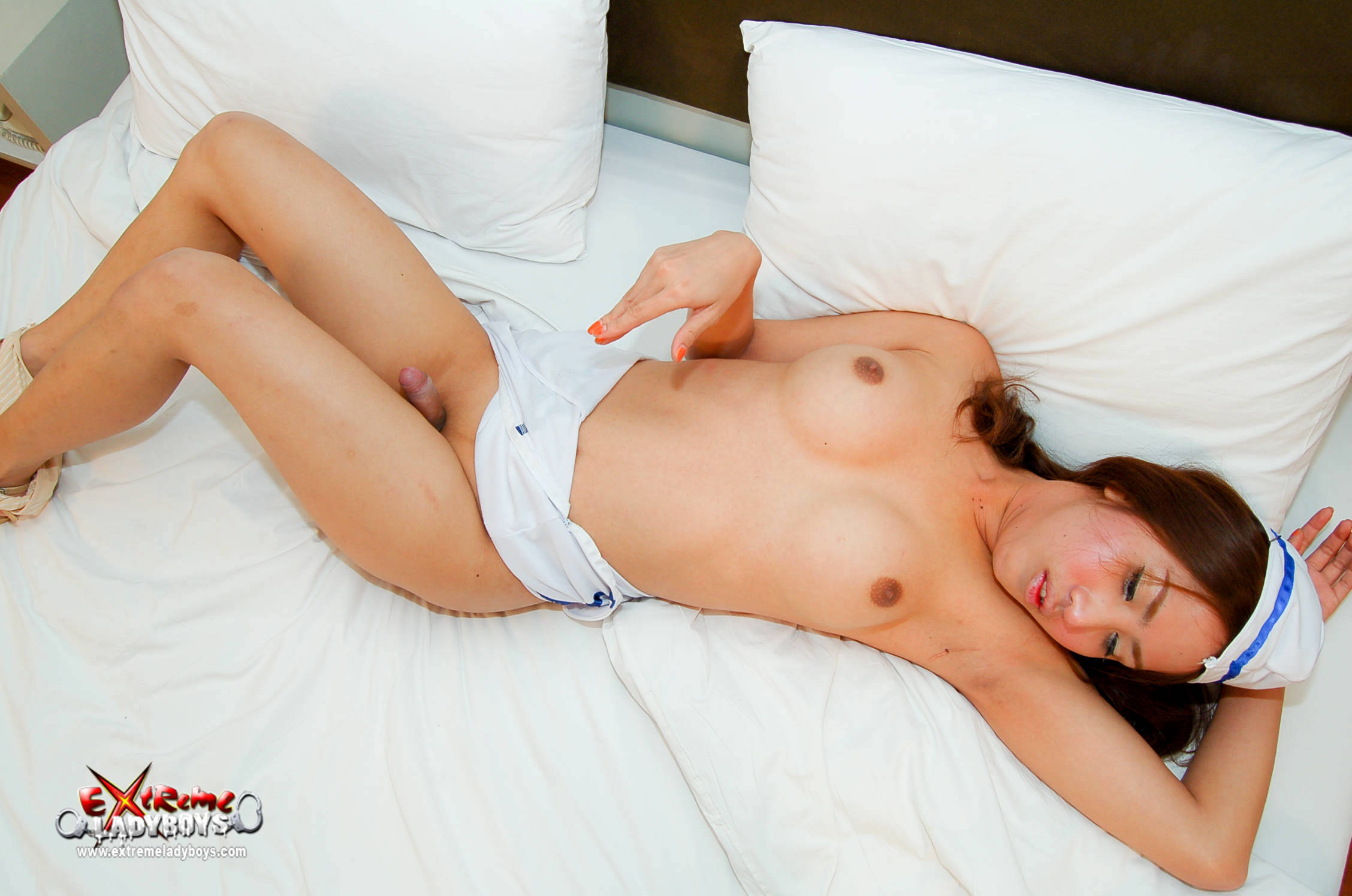 Young Slutty Tgirl Finally Sucked And Fucked!